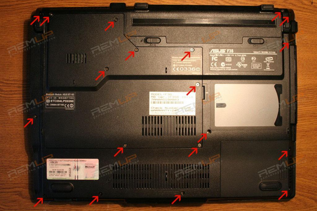 Драйвера Ноутбук Asus F3S