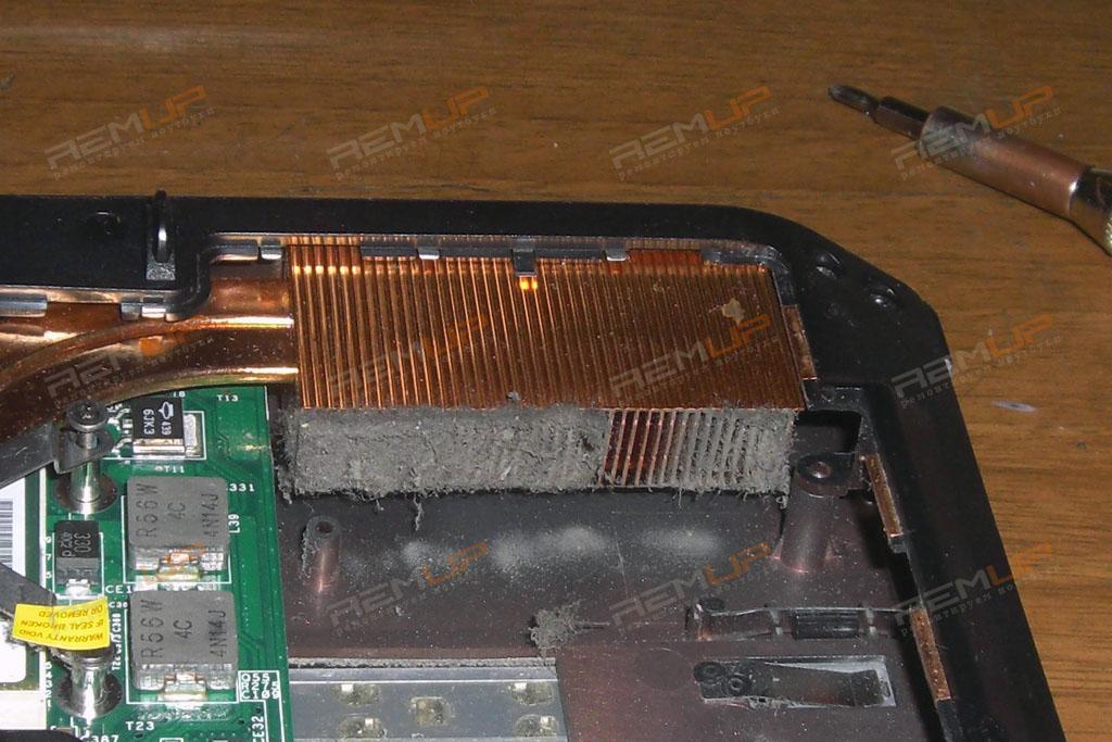 охлаждения ноутбука
